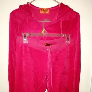 Original Juicy Couture Pink Jumpsuit